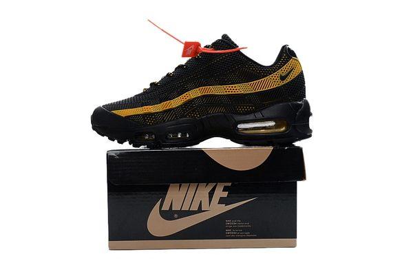 Ladies Nike Air Max 95 iD Black/Gold Shoes