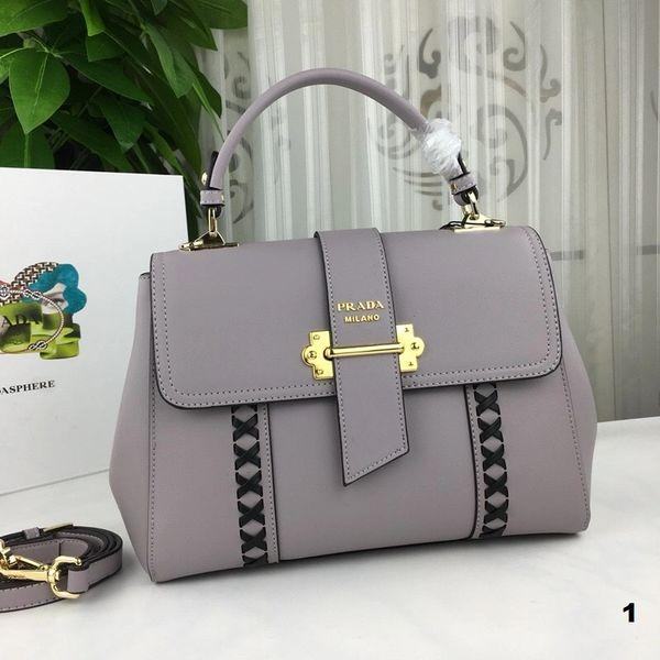 NEW 2018 Original Prada Handbags Catalog 3 (5 Colors Available)