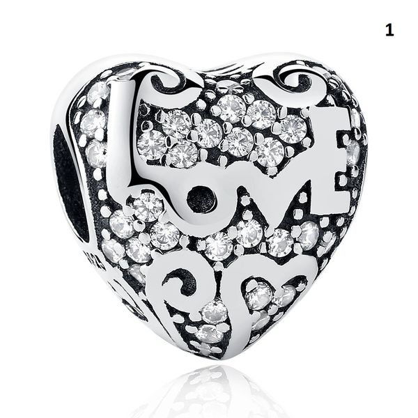 Real 925 Sterling Silver Crafted Pandora & Universal Charms Catalog 1 (10 Charms To Choose From) (Free 7 Day Shipping If You Purchase 10 Or More Charms)