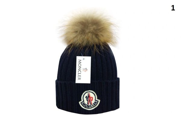 NEW Winter Original Moncler Knit Wool Hat Catalog 2 (With Pom)