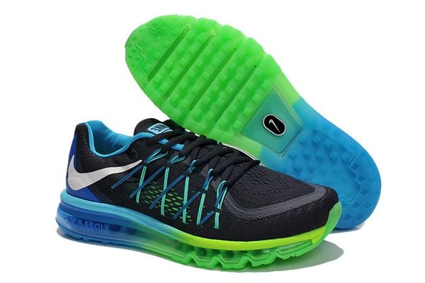 Nike 2015 Retro Dark Obsidian Air Max Running Shoe