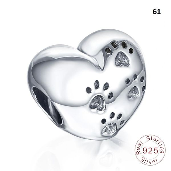 Real 925 Sterling Silver Crafted Pandora & Universal Charms Catalog 7 (9 Charms To Choose From) (Free 7 Day Shipping If You Purchase 10 Or More Charms)