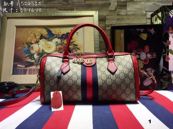 NEW 2018 Original Gucci Handbags Catalog 5 (4 Colors Available)