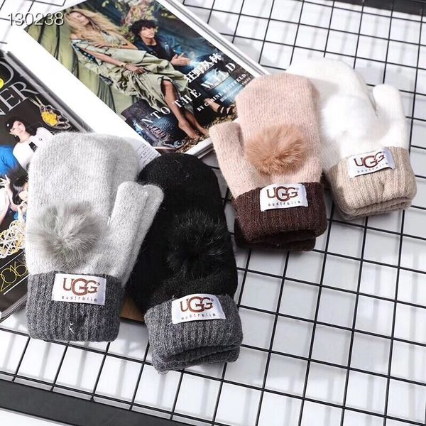 NEW Original Ladies UGG Cashmere Knitted Gloves Catalog 2