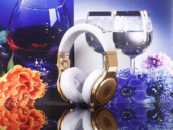 Monster Beats By Dre 24K Gold Pro Headphones Original (Limited Edition)