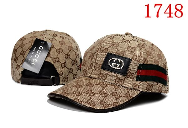 Original Gucci Embossed Embroidered Printed Baseball Cap Catalog 109 (8 Colors Available)
