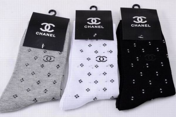 Chanel Luxury CC Logo Casual Socks 1399575