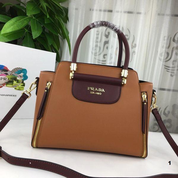 NEW 2018 Original Prada Handbags Catalog 2 (3 Colors Available)