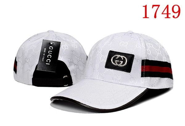 Original Gucci Embossed Embroidered Printed Baseball Cap Catalog 111 (7 Colors Available)