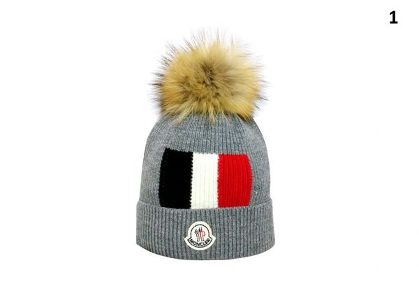 NEW Winter Original Moncler Knit Wool Hat Catalog 1 (With Pom)