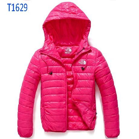 Ladies The North Face T1629 Thermoball Custom Full Zip Coat with Hood (6 Colors Available)