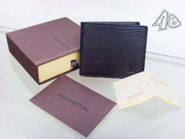 Men's Louis Vuitton Epi Bifold Wallet