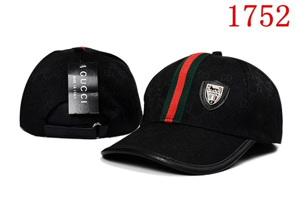Original Gucci Embossed Embroidered Printed Baseball Cap Catalog 106 (8 Colors Available)