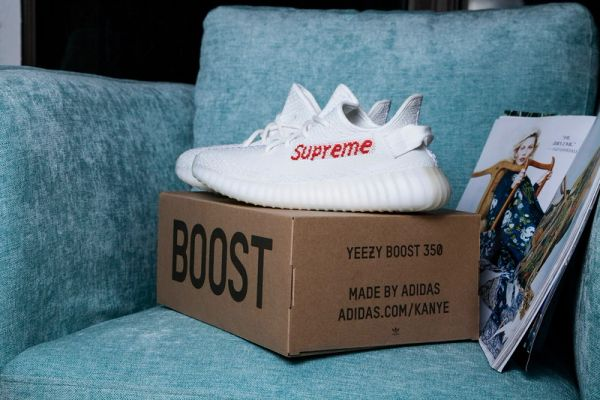 Supreme x Adidas Yeezy Boost 350 V2 White (Special Limited Edition)