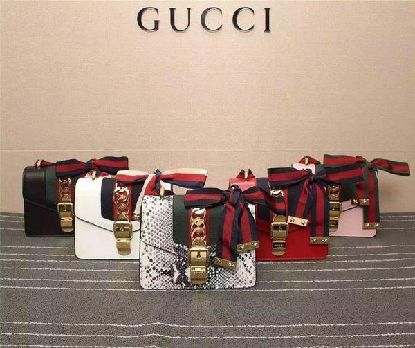 Vintage Gucci Sylvie Leather Mini Chain Bag