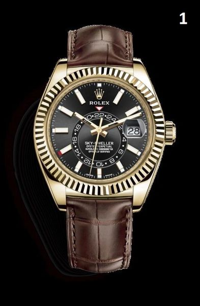 NEW Rolex Oyster Perpetual Sky-Dweller Luxury Timepiece Catalog 1 (90% Off Retail Price)