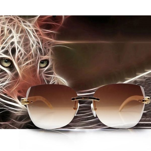 "71987668fe95 Cartier ""C"" Décor Bubinga Wood Retro Buffalo Horn Sunglasses (Free Express  Shipping)"