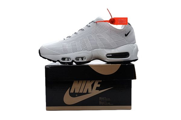 Men's Nike Air Max 95 iD All White Shoes