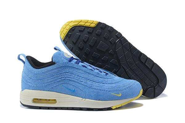 NEW Blue Hybrid Nike Air Max 97 Plus Running Shoe (Special Edition)
