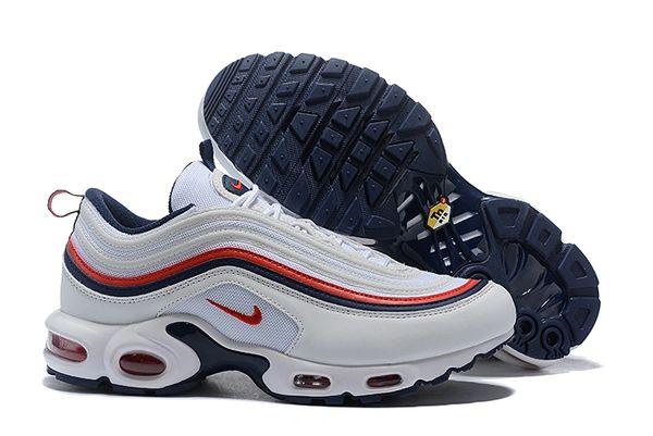 NEW White Nike Air Max 97 Plus Running Shoe