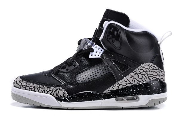 Air Jordan 3.5 'Spizike Fear Pack' Oreo Black/White Sneaker 315371-004