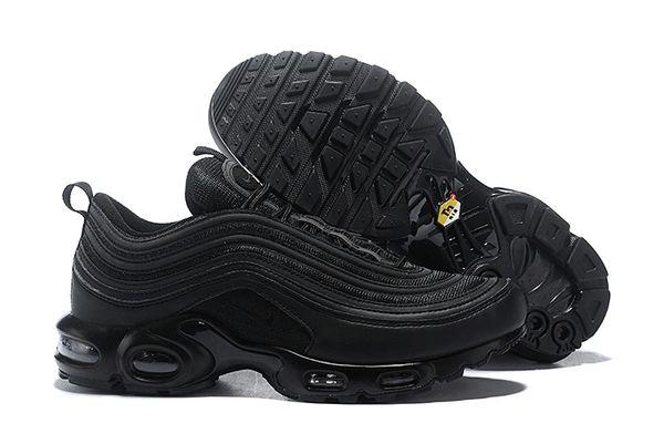 NEW Black Nike Air Max 97 Plus Running Shoe