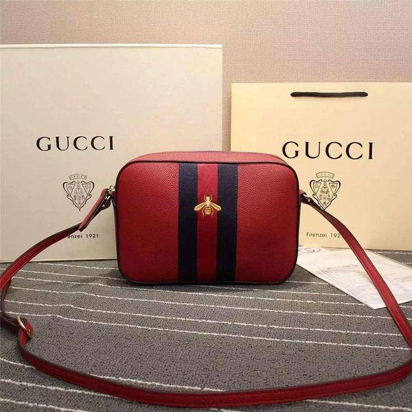Vintage Gucci Leather Shoulder Bag