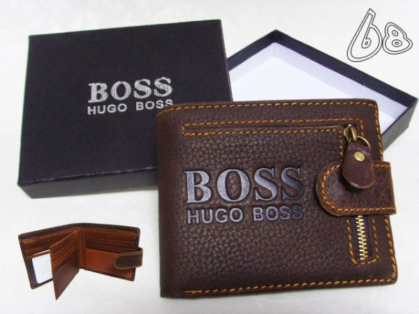 Men's Hugo Boss Custom Leather Wallet E