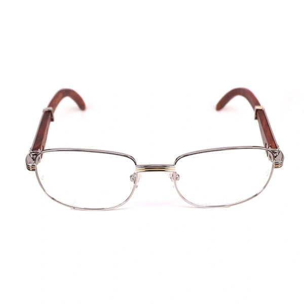Cartier Vintage Monceau Wooden Buffalo Horn Glasses (Free Express Shipping)