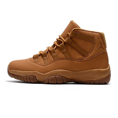 Air Jordan 11 PSNY Wheat Sneakers (Special Edition)