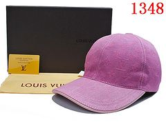 Ladies Louis Vuitton Monogram Canvas Baseball Cap