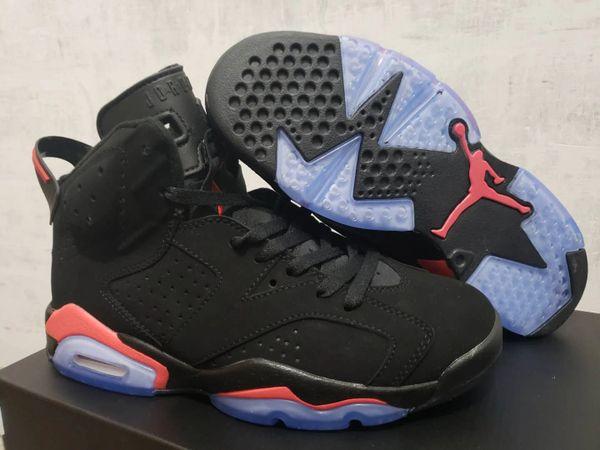 NEW 2019 Black Nike Air Jordan 6 Retro Sneakers