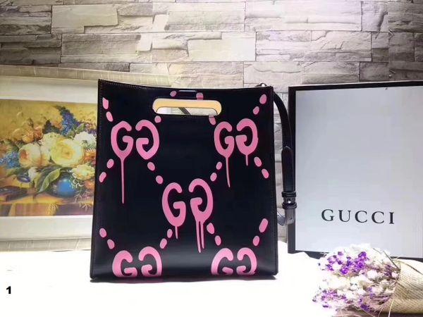 NEW 2018 Original Gucci Handbags Catalog 6 (3 Colors Available)
