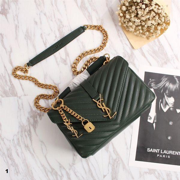 NEW 2018 Original Saint Laurent (YSL) Handbags Catalog 5 (4 Colors Available)
