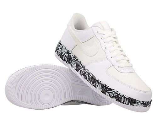 Nike Air Force 1 Low Black/White & Floral Sneakers (2 Colors Available)