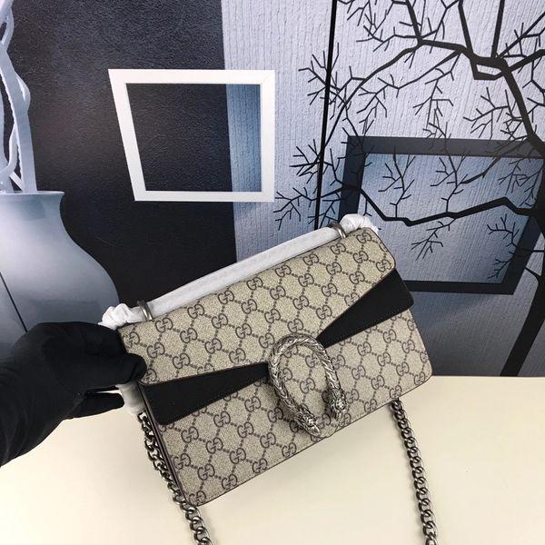 NEW 2018 Gucci Black Dionysus GG Supreme Mini Bag