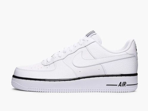 Nike Air Force 1 07 Low White Black Sneakers