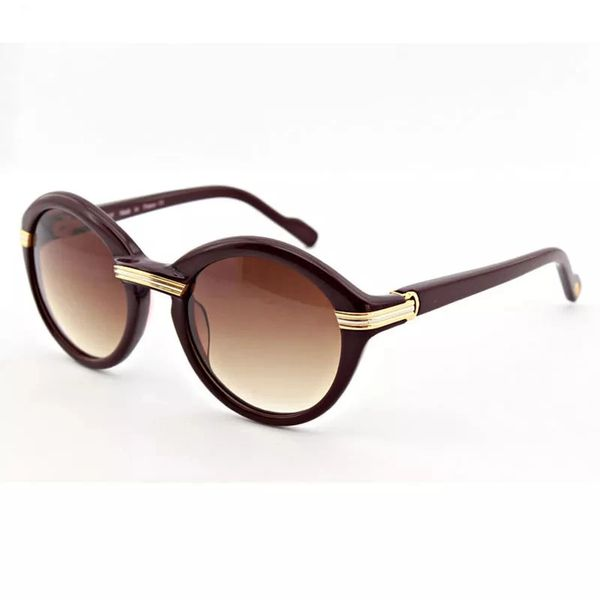 Cartier Vintage Cabriolet Black Sunglasses (Free 3-5 Day Shipping)