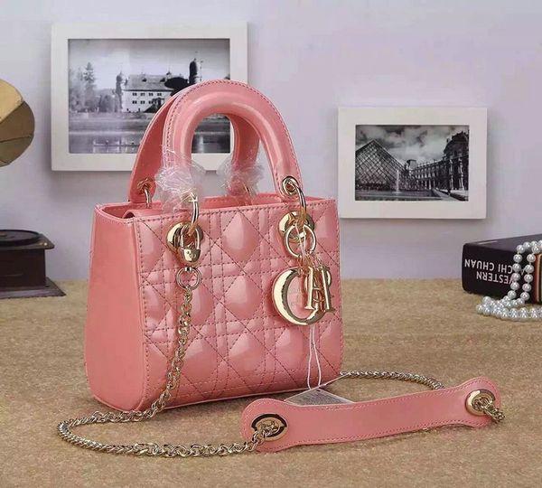 "Vintage Dior Mini ""Lady Dior"" Bag In Lambskin"