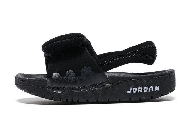Air Jordan Hydro Black/White Little Kids' Sandals