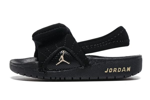Air Jordan Hydro Black/Off White Little Kids' Sandals
