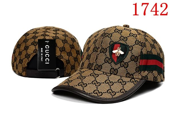 Original Gucci Embossed Embroidered Printed Baseball Cap Catalog 104 (8 Colors Available)