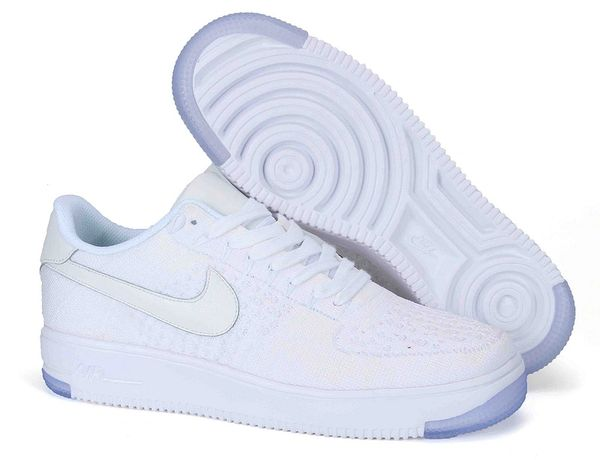 Ladies Nike Air Force 1 Ultra Flyknit Low Shoe (2 Colors Available)