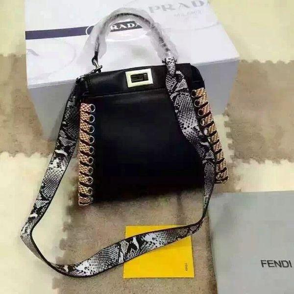 Vintage Fendi Mini Peekaboo Handbag