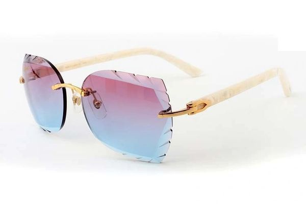 "Ladies 2018 New Cartier 'Sky Bluish Pink"" Aztec Sunglasses (Free Express Shipping)"