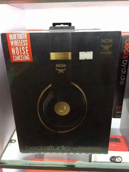 Beats X MCM Studio Wireless Over Ear Headphones (Special Edition)