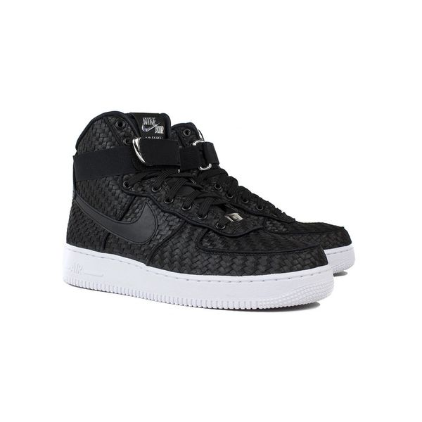 Men's Nike Air Force 1 High 07 LV8 Woven Black & White Sneakers