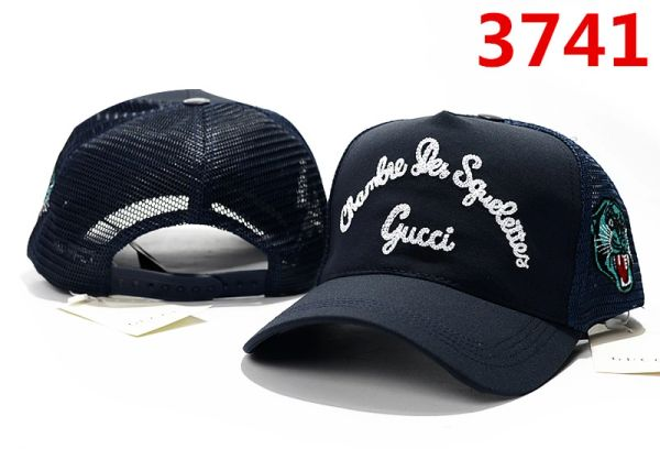 Summer Gucci Embossed Embroidered Printed Baseball Cap Catalog 103 (7 Colors Available)