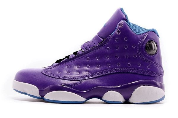 "Air Jordan 13 Retro (GS) ""Purple Grape"" Sneaker"