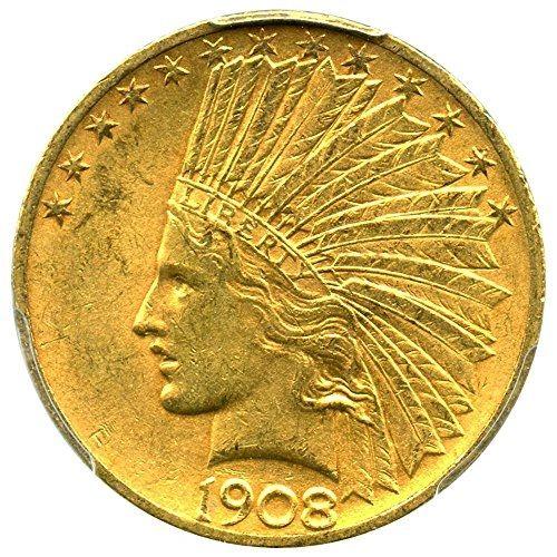 1908 D Ten Dollar Gold Indian